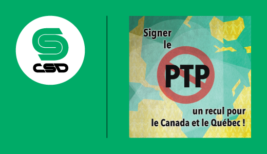 Confédération syndicale internationale – Déclaration sur le Partenariat transpacifique (PTP)