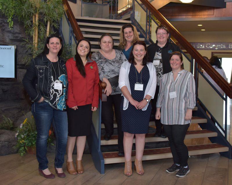 Photo de groupe des militantes de la CSD pour la condition féminine