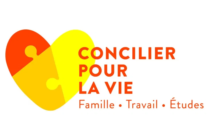 Logo Concilier pour la vie Famille-Travail-Études