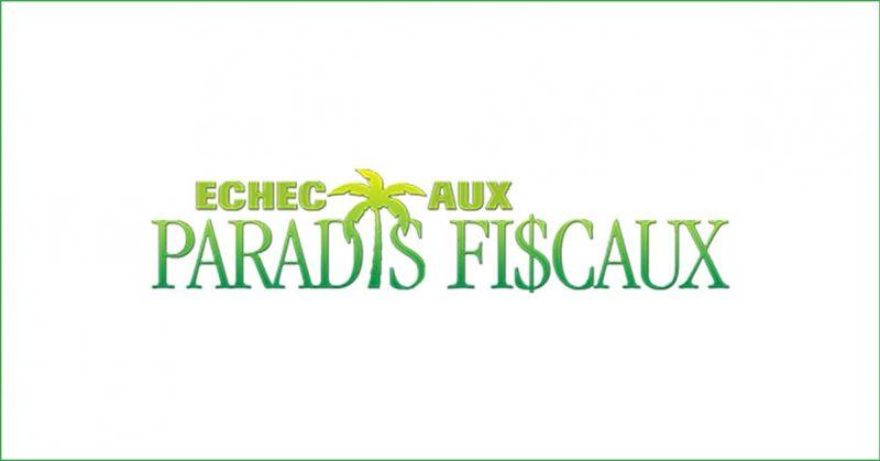 Logo Échec aux paradis fiscaux.