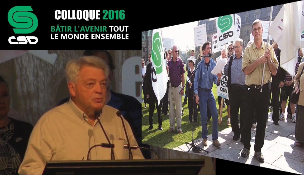 Allocution de Marcel Bachand, président du Syndicat national de l'amiante