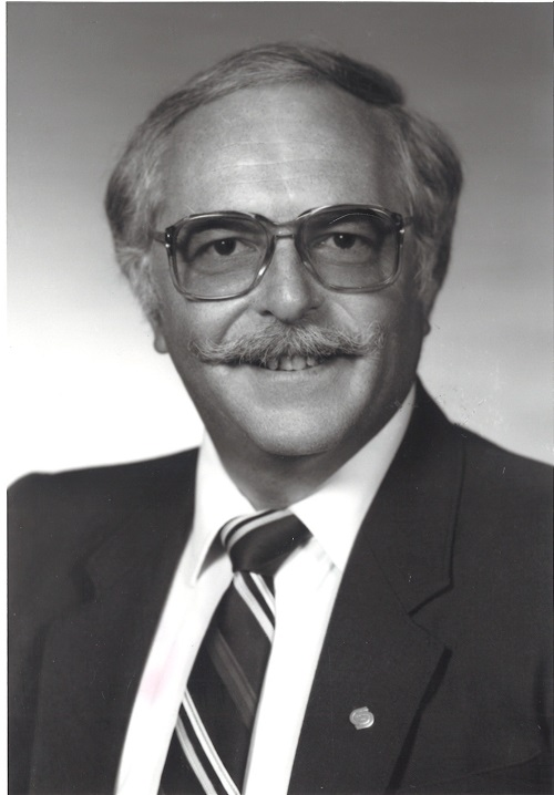 Photo de Claude Gingras en 1985