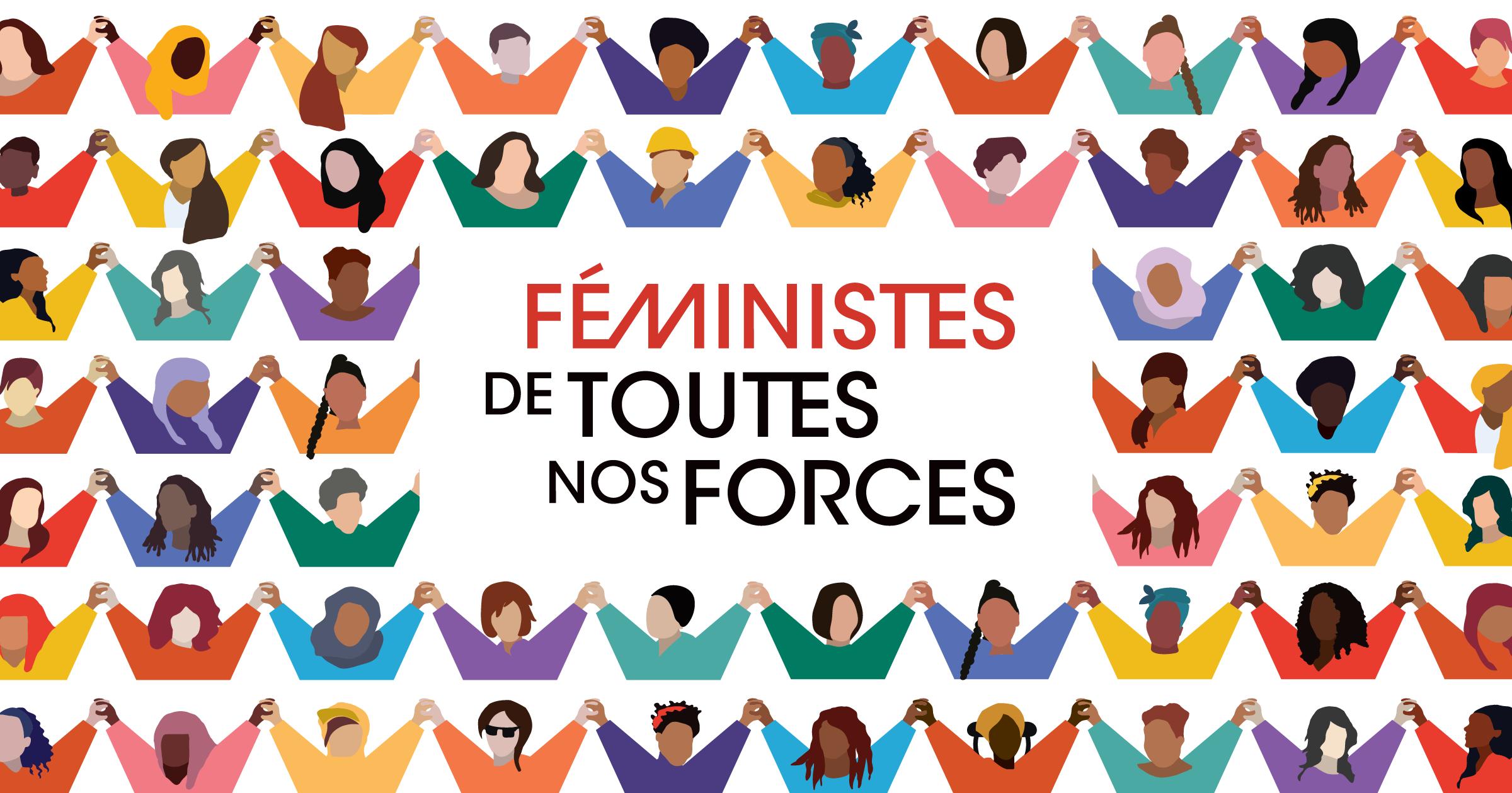 Journée internationale des droits des femmes 2020 : féministes de toute nos forces
