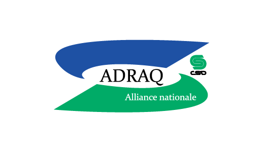 Logo de l'ADRAQ Alliance nationale CSD