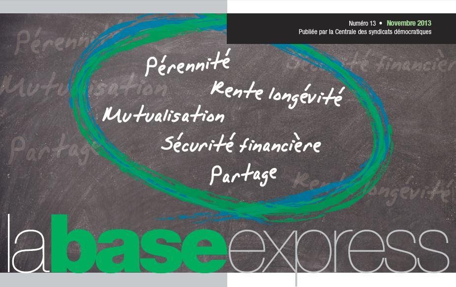 Image du magazine CSD sur la retraite.