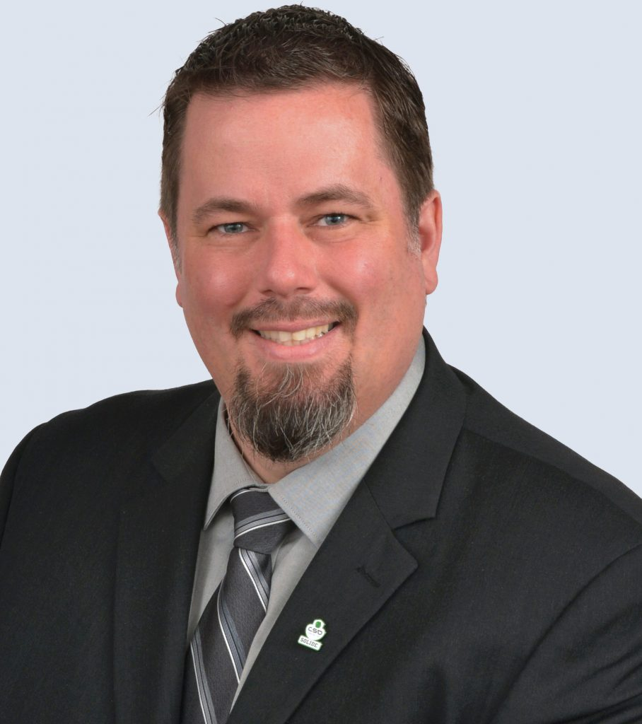 Patrick Cyr, trésorier CSD