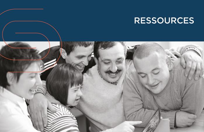 Ressources familiales et certaines ressources de type intermédiaire un secteur de la CSD