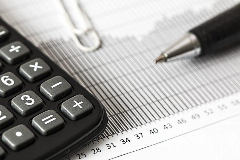 Calculatrice et document comptable