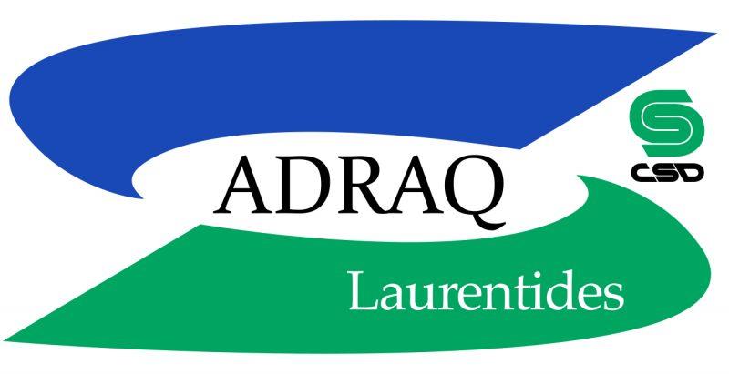 Logo de l'ADRAQ CSD Laurentides
