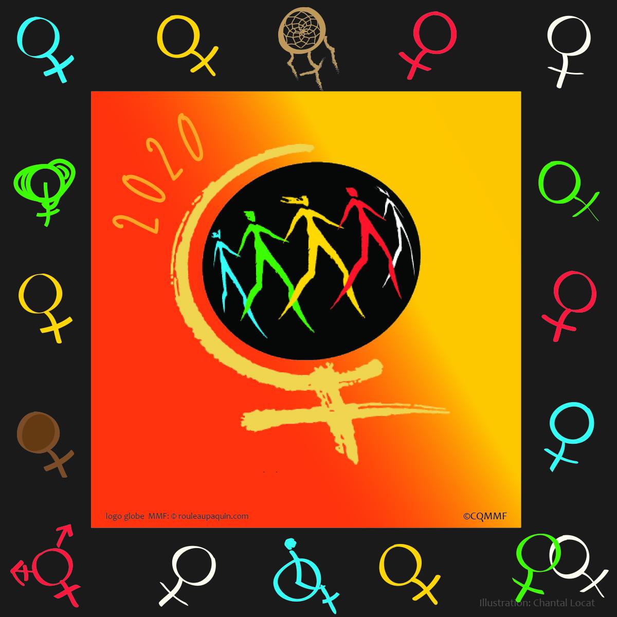 Logo de la Marche mondiale des femmes